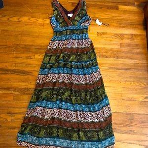 NWT DressBarn Roz & Ali maxi dress sz 6